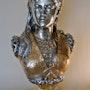 Armide, buste en bronze. Marc Menzoyan Antiquités
