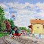 La gare du petit train.
