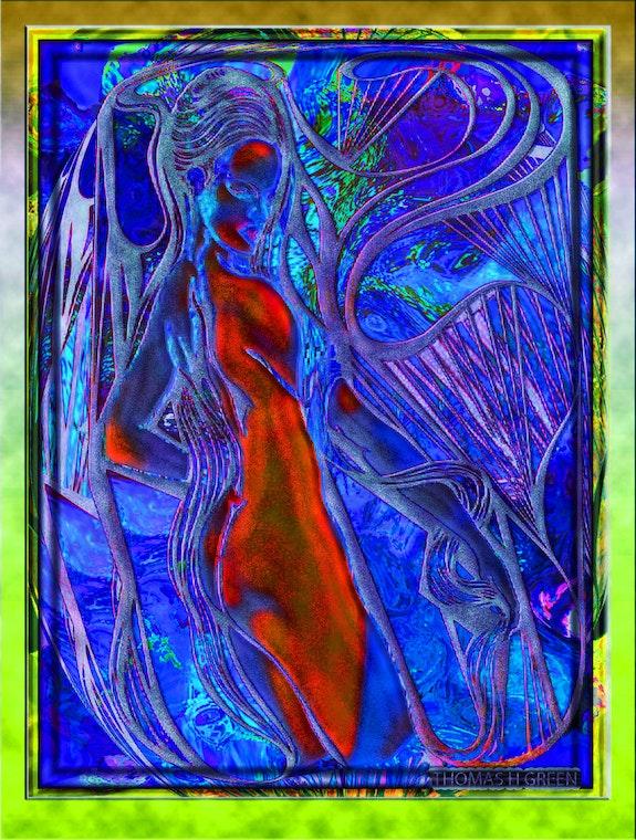Abstract nude. Thomas H Green Thomas H Green