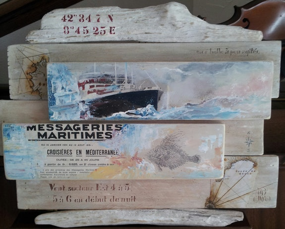 Messageries maritimes. Rose Rose