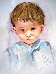 L'enfant réfugié.. Hamri