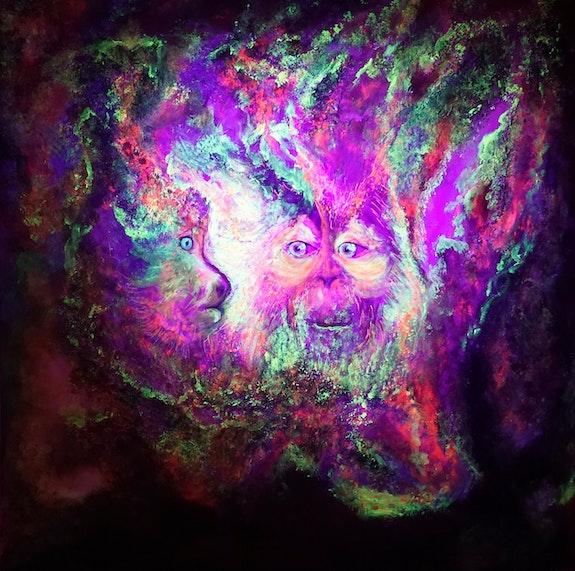Sagesse colorée-lumière noire. Susanna Massa Susanna Massa