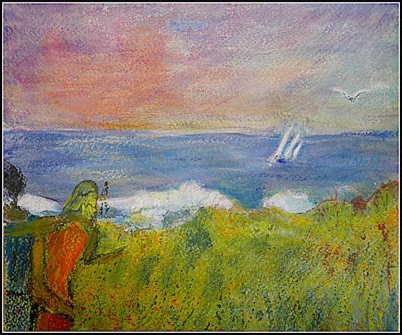 Promenade en bord de mer. Maï Laffargue Maï Laffargue