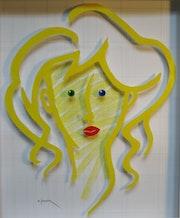 Portrait jaune.