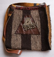Handmade shoulder bag. Maryam Moghaddam