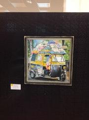 Rickshaw indien. Pierre Dervillez