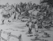 La rencontre de epistemon et panurge avec sybille de panzoost. Jean Claude Buisson