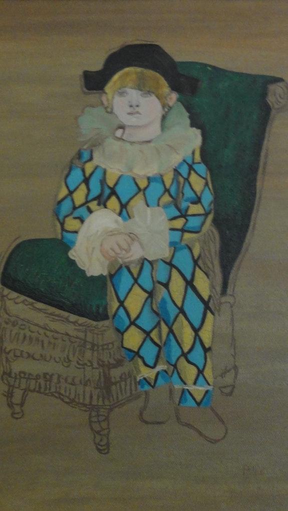 Arlequin. Patricia De Chadois Patricia De Chadois
