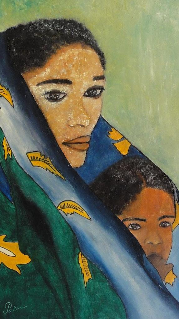The pretty Comorian. Patricia De Chadois Patricia De Chadois
