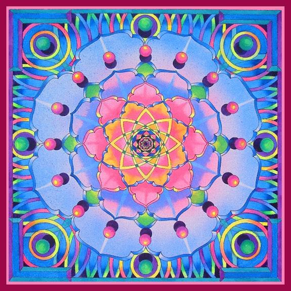 Mandala 14. Brahma Templeman Brahma Templeman