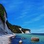 Chalk Cliffs of Ruegen Island.