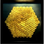 Golden Hexagon. Parastoo Zomorrod