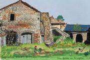 Une ferme en Aveyron.