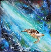 La tortue de l'espace.