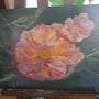 La rose de mon jardin. Patricia Juteau