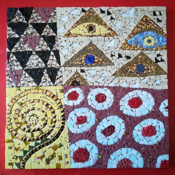 Variation Klimt 1.  Anita Riou