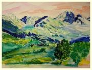 Montagne de Lans en Vercors.