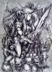 Dark legend. Angel P.