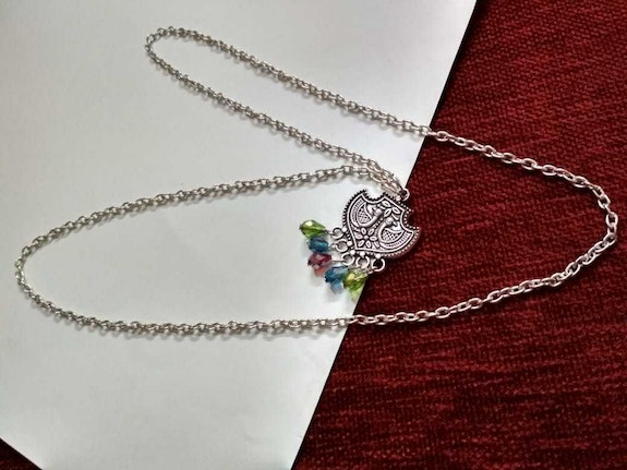 Traditional silver necklace. Jeweleternelle Jewel Eternelle