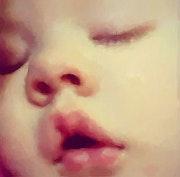 Chut bébé dort. Marie Carteron