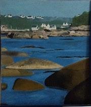 Paysages cotiers bretons.