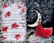 Clair de lune. Hommage à Debussy.