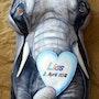Babybelly - Elephant. Micha Guerin