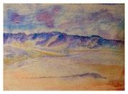 Vallée blanche -Sahara.