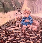 Enfant & chien.