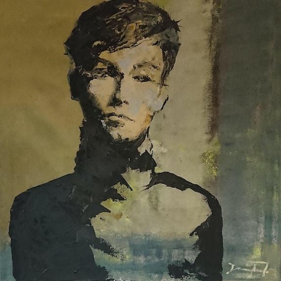 Portrait. Damian Tirado Sculpteur & Peintre