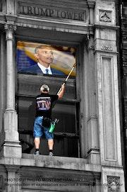 Nettoyeur à la Trump Tower. Hervé Hameury