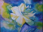 Fleur bleue.