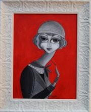 Republican Woman. Mona Titti Art