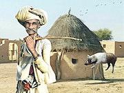 Unique India. Jean-Marie Gitard (Mr Strange)