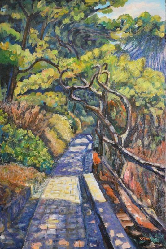 Path of Gods. Umberto Cesino Arte Italiana