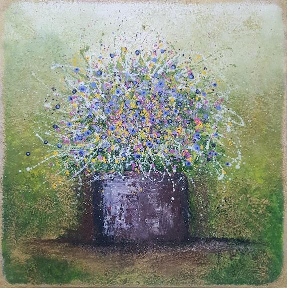 Love is a vase full of flowers. Cinzia Mancini Art Cinzia Mancini
