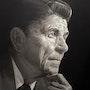Ronald Reagan. Ignacio Paldino