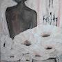 Femme fleur. Odalix