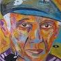 Portrait Picasso. Chantal Gougeon Moussu