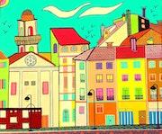 Arles en couleur.