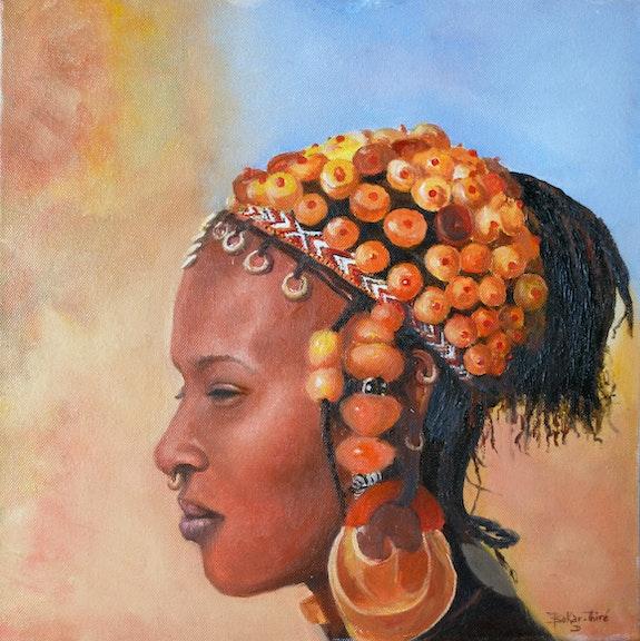 Femme Peuls. Djibril Bokar-Thire Djibril