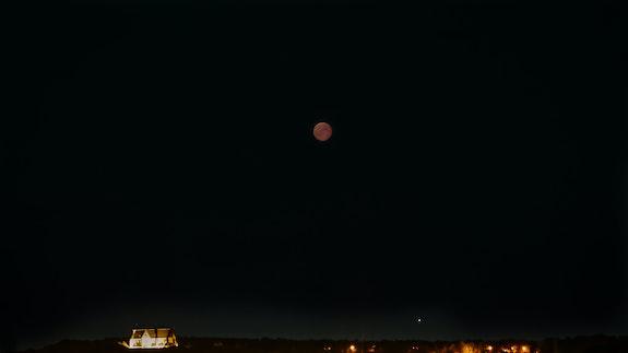 Eclipse lunaire du 27/08/2018. Philippe Wertz Philippe Wertz