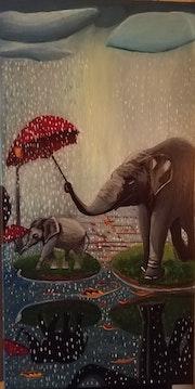 Tierrisches Mitgefühl.
