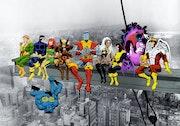 Marvel: X-Men Lunch Atop a Skyscraper.