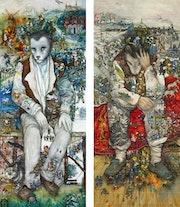 «Les petits cercueils» et «Adieu La Vigue» d'après les romans de L. F. Céline. Mara Tranlong