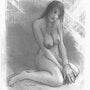 Gwenhael dessin de nu. Delatour