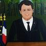 President de la france. Ilham Sifi