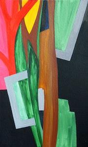Hors cadre. Végétaux, jungle, proches de l'abstraction..