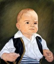 «My son Rubén».