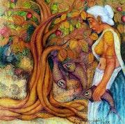 Fisher Woman. Jayabalan